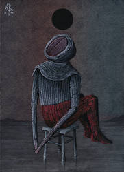 Seated Burial by E-Root