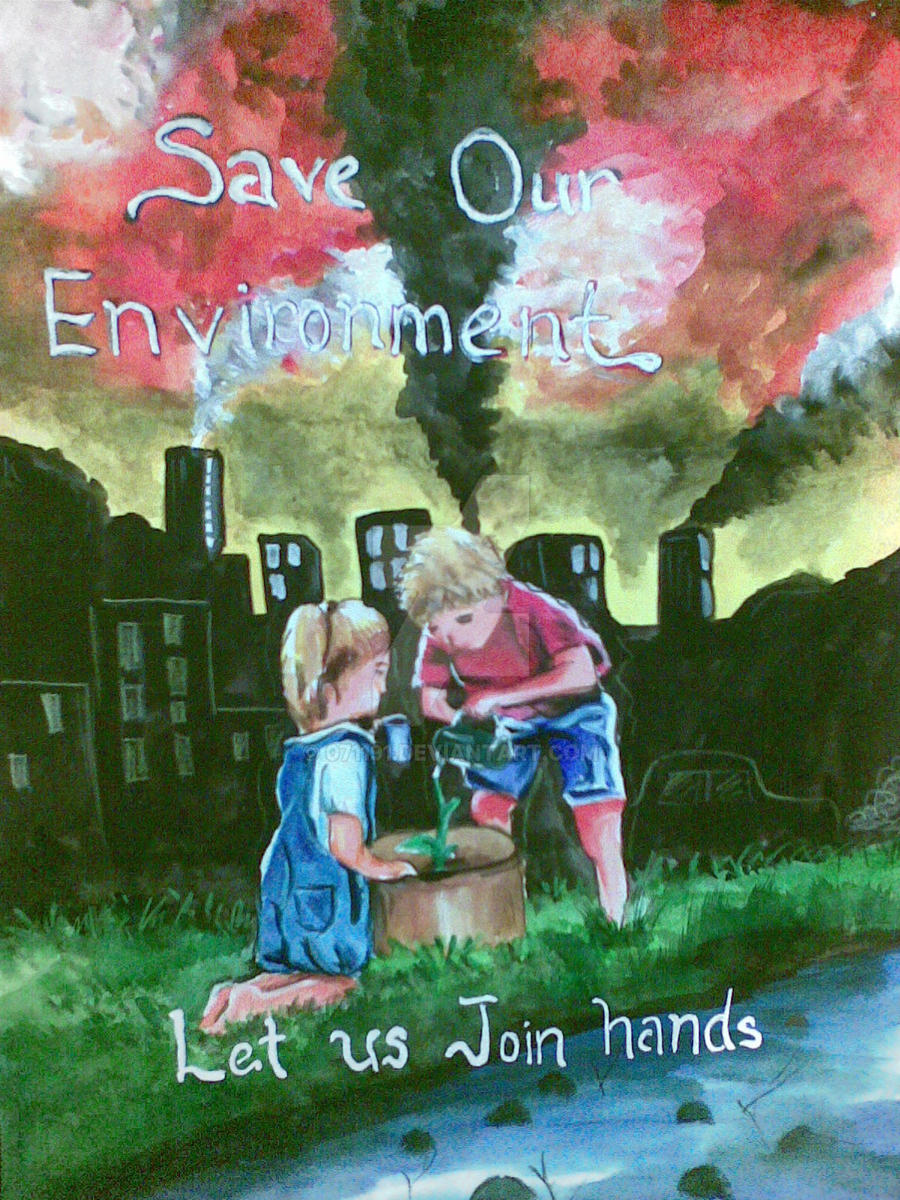 essay on how we can save our environment
