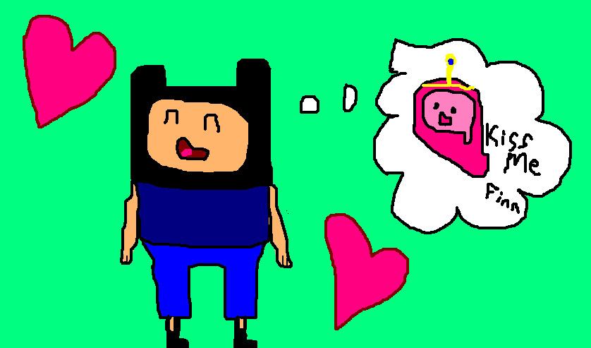 Princess+bubblegum+and+finn+kissing