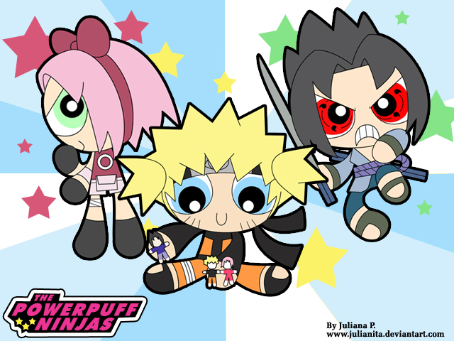 Powerpuff Ninjas by Julianita