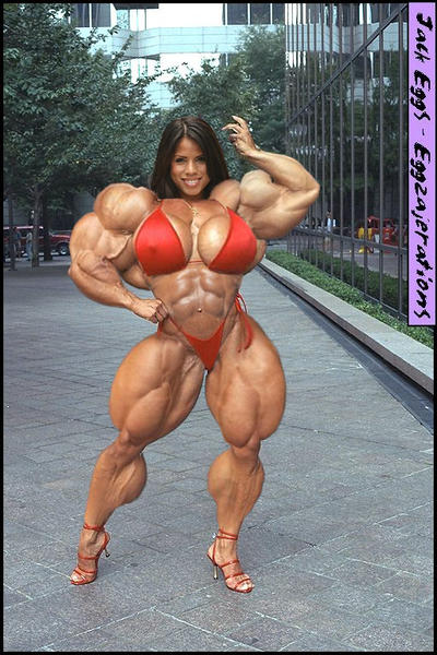 Female bodybuilder teen did you ever wonder 2