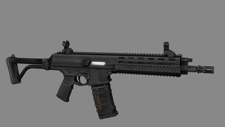 XCR assault rifle