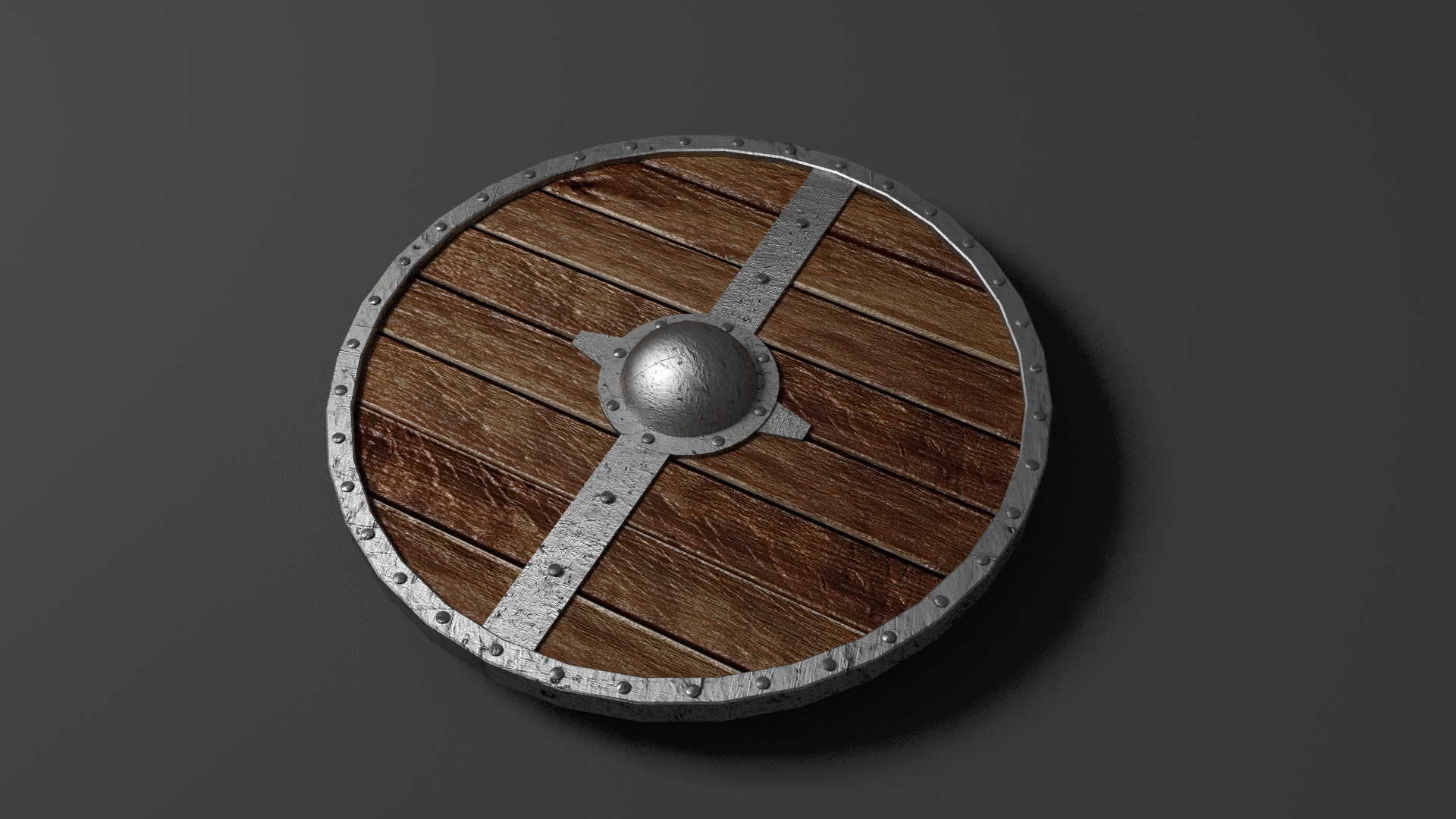 Viking Shield By Jarjarguy