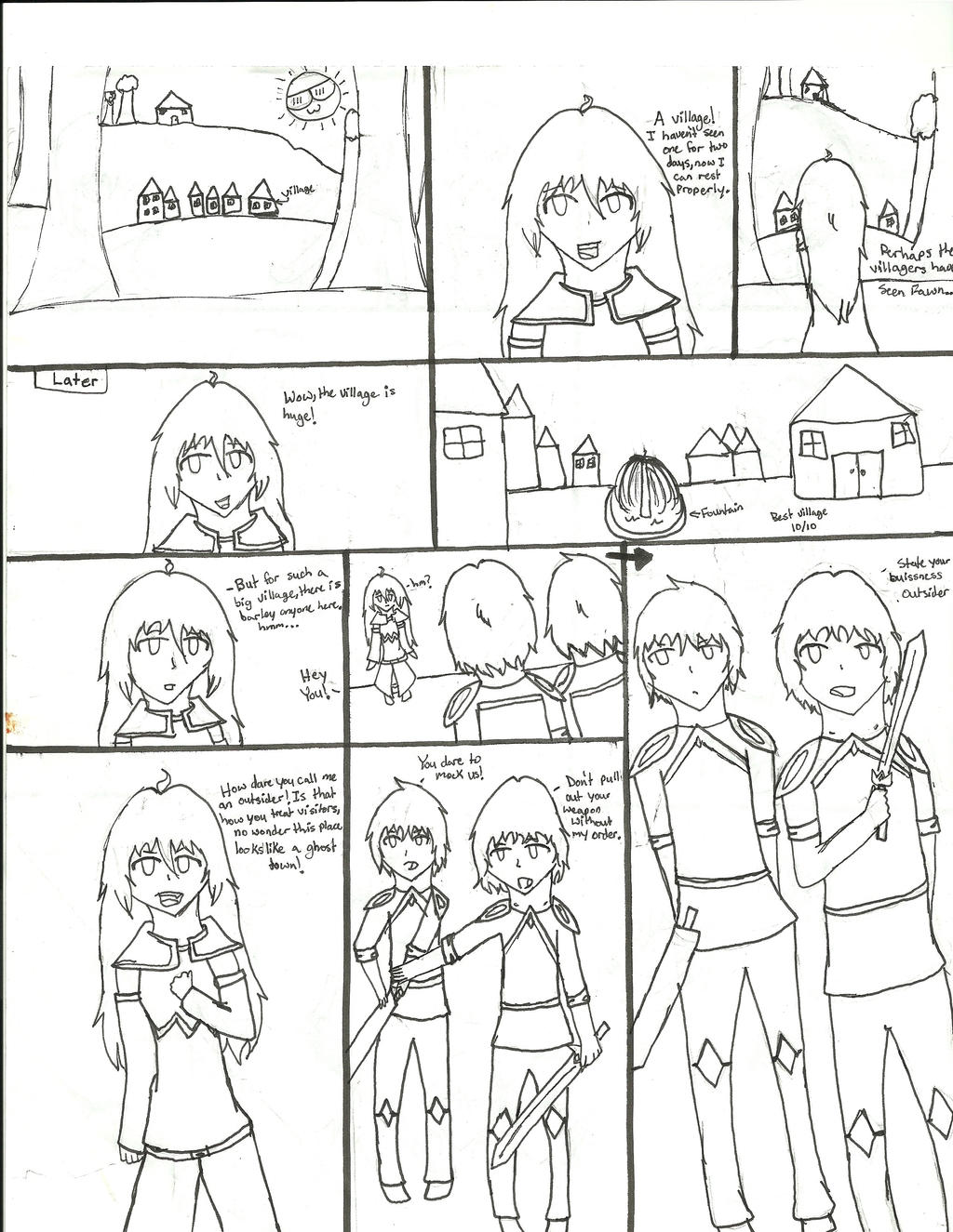 Sarah Comic Prologue Pt 3 By 1warriorcats On Deviantart