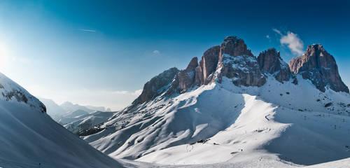 Val Di Fassa mounains Pano3 by debagger