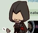 Ezio Shimeji and bird by Nero-TheDevilBringer
