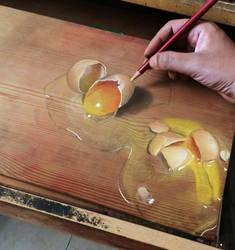 Broken.Eggs by ivanhooart