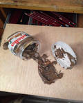 Drawing Nutella.