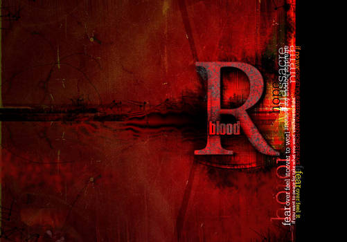 RED IN BLOOD