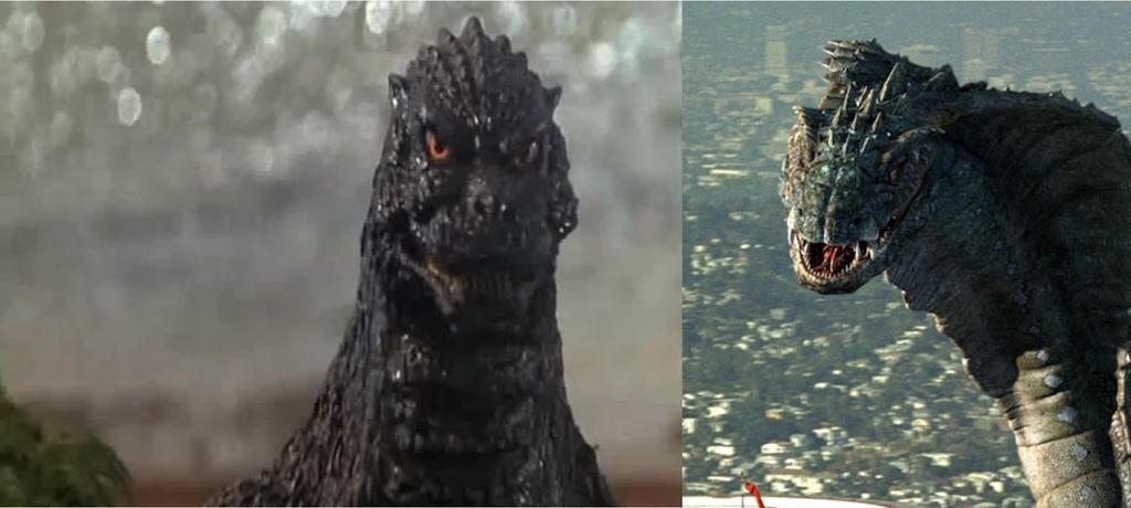 Godzilla 1994 vs Buraki by ltdtaylor1970