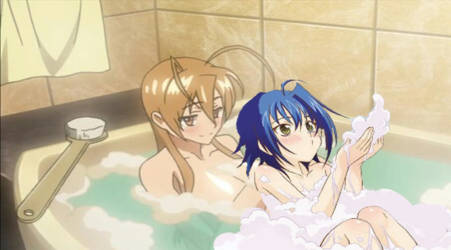 Bathing with Rei....dreams do come true. X333