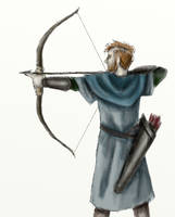 Archer (quick sketch) by FrerinHagsolb