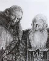 Dwalin and Balin by FrerinHagsolb