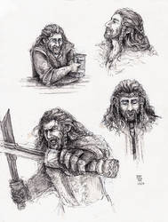 Fili Sketches by FrerinHagsolb