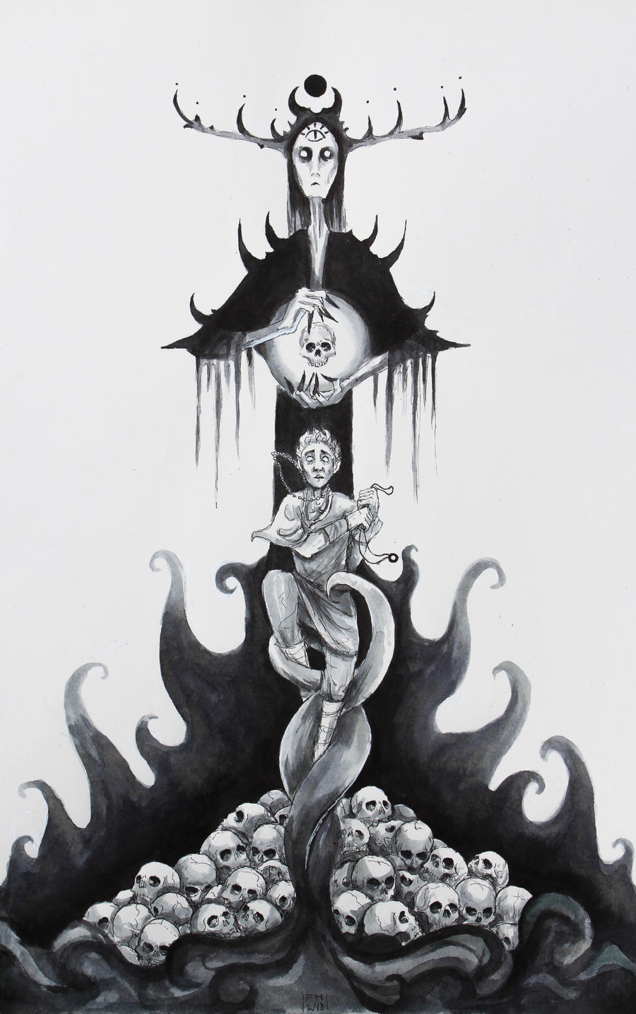The Necromancer by FrerinHagsolb