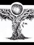Knowledge (Tattoo Design) by FrerinHagsolb