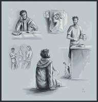 Still Nameless (sketches) by FrerinHagsolb