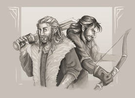 Durin Brothers (Speedpaint)