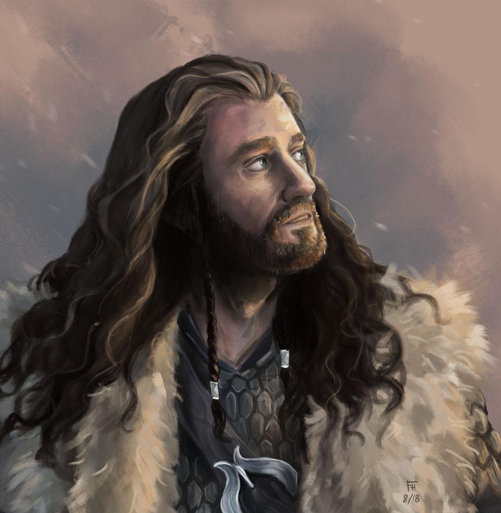 Thorin Oakenshield ('Speedpaint') by FrerinHagsolb