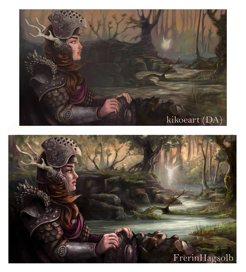 Paint Over - kikoeart's 'Forest Guardian' by FrerinHagsolb
