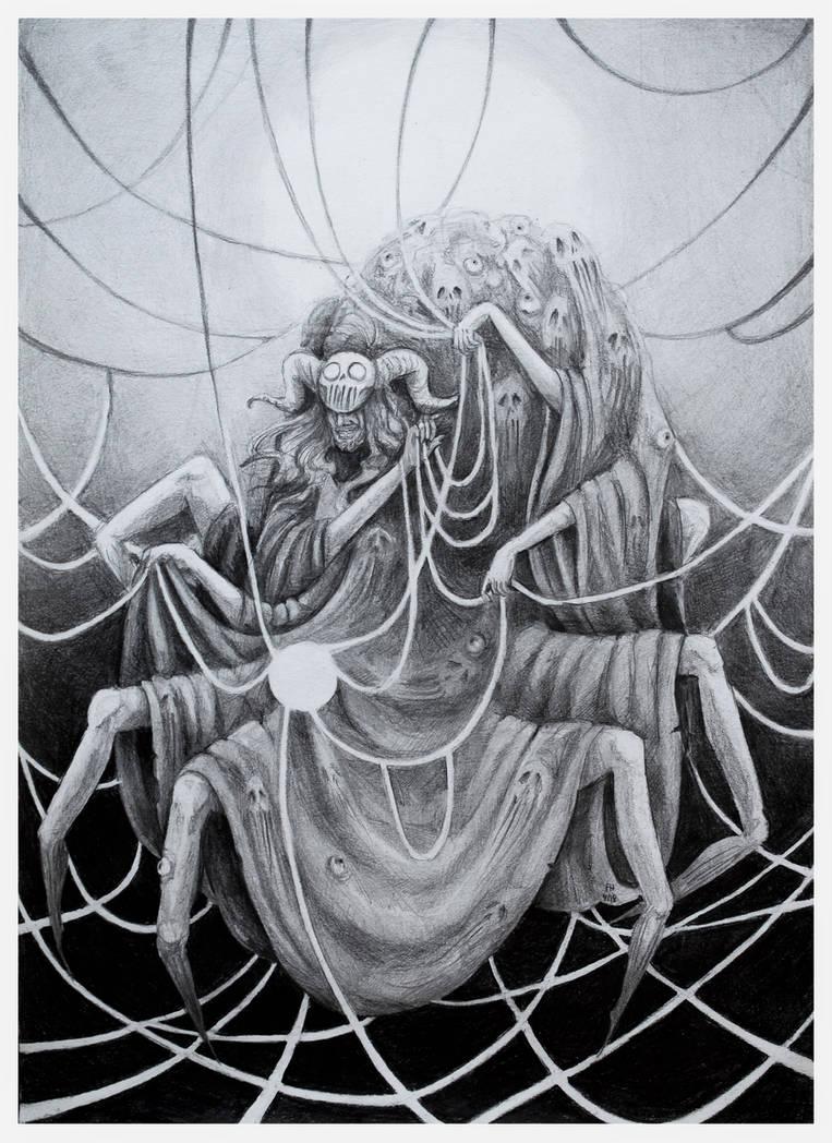Khar, God of Illusion and Ambuscade [CE] by FrerinHagsolb