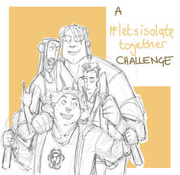 Art Challenge - Let's Isolate Together