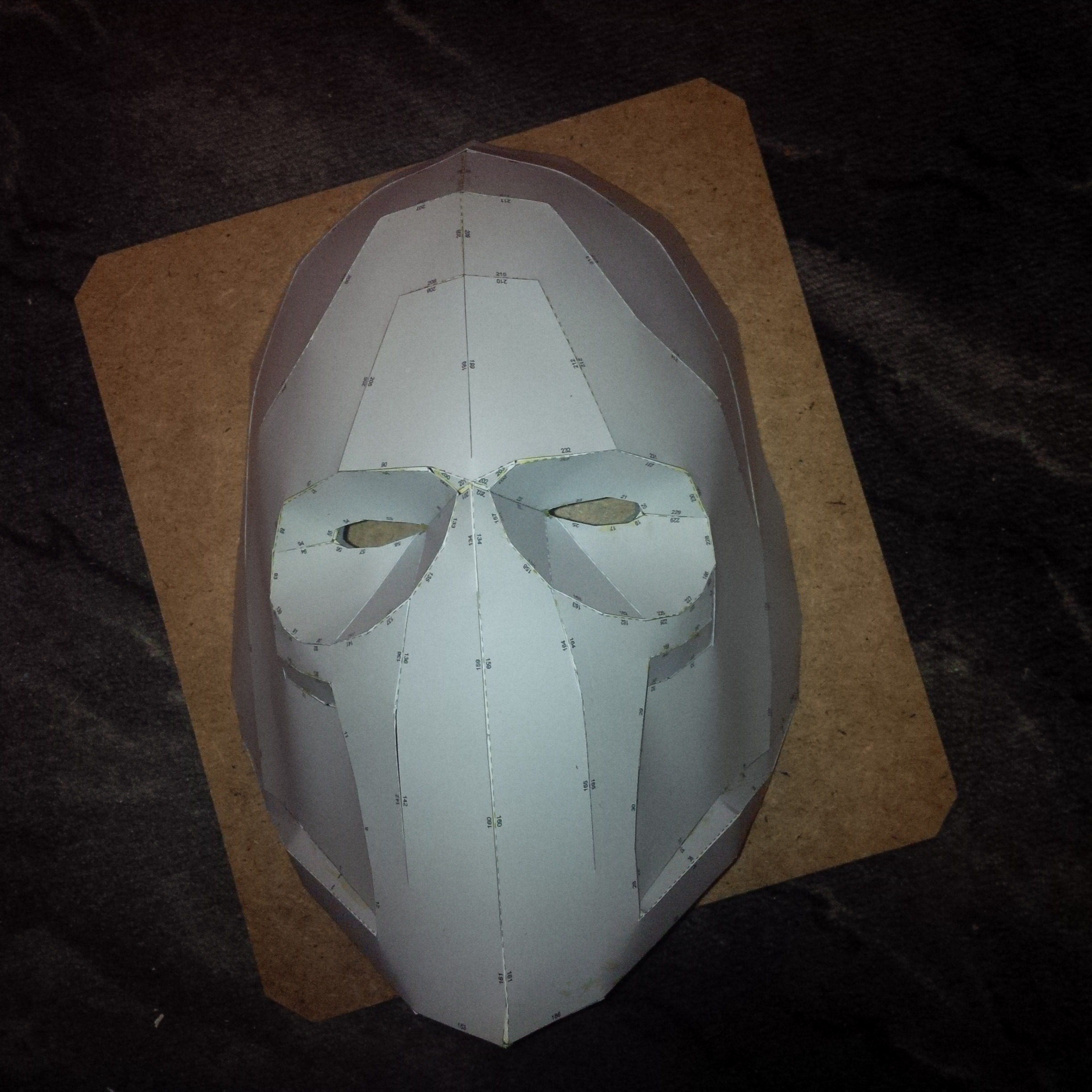Pepakura Army Of Two mask by gezjenk on DeviantArt