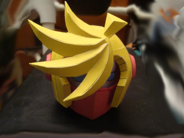 Pantybot head by IkariyaManga
