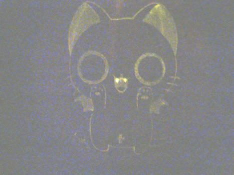 Nyanpire Halloween 2012 (Lit up)