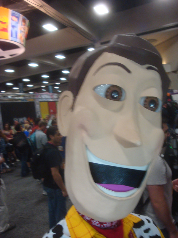 Woody Selfie at Comiccon 2014 by IkariyaManga