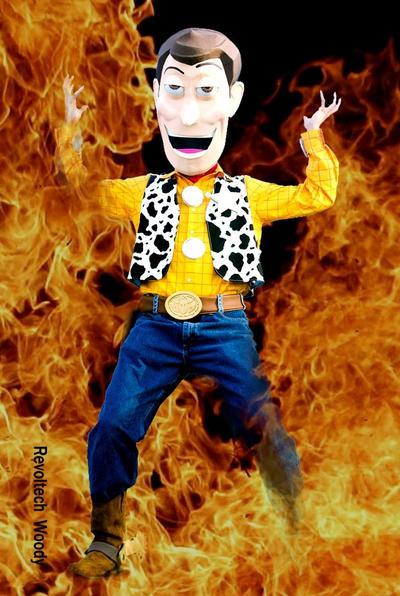Revoltech Woody - Inferno by IkariyaManga