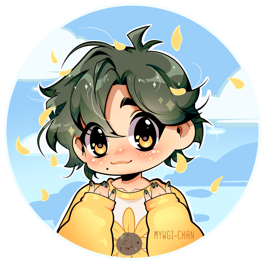 Commission: Good Sunshine Boi by myugi-chan