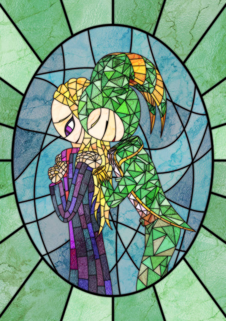 Stained Glass Zodiac and Altair by TheCreator7777
