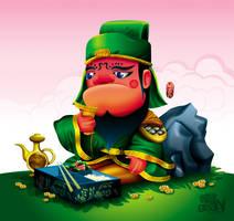 Guan Yu by Seanleedesign