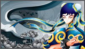 Chun-Li by Seanleedesign