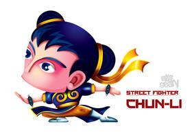 Chun-li III by Seanleedesign