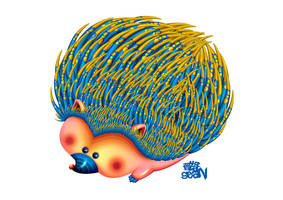 Hedgehog by Seanleedesign