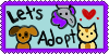 Let's Adopt group icon by SweetKeyDani