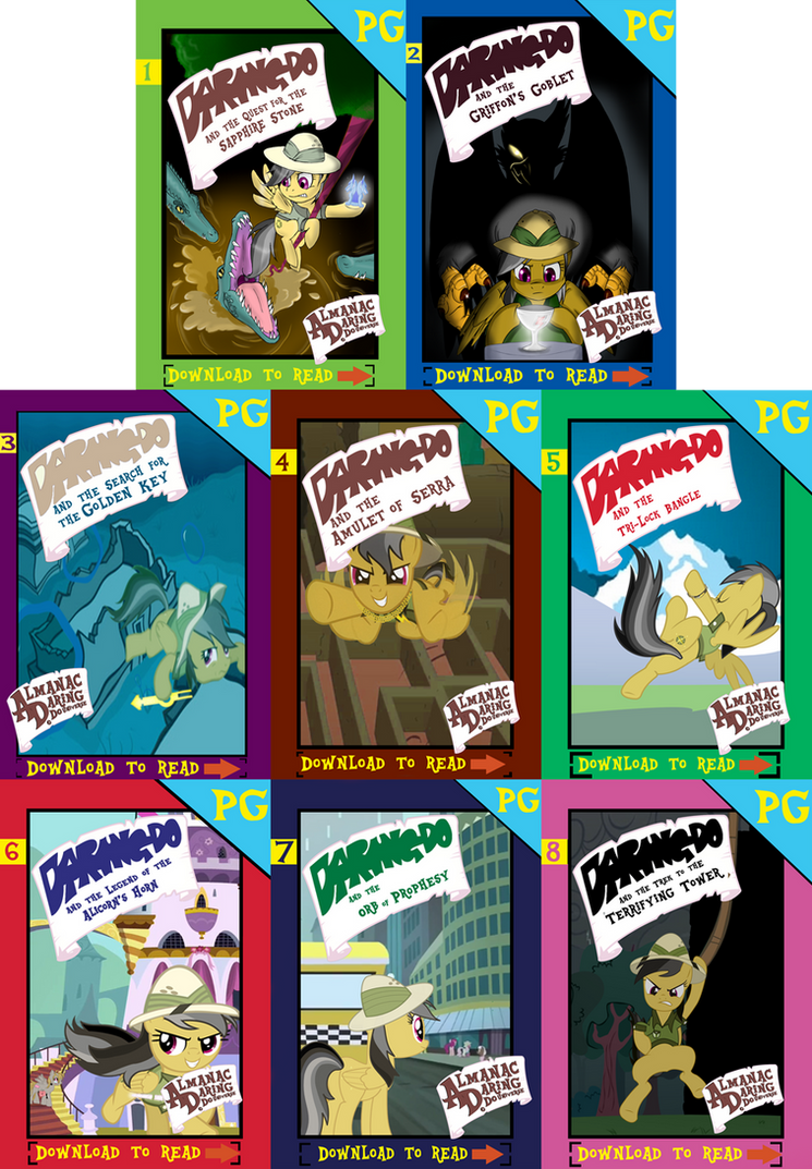 Daring Do and the Alicorn Secret Saga by AlmanacPony