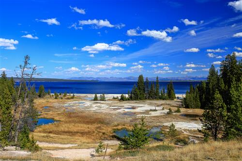 Hot springs,Yellowstone by boradaphotography