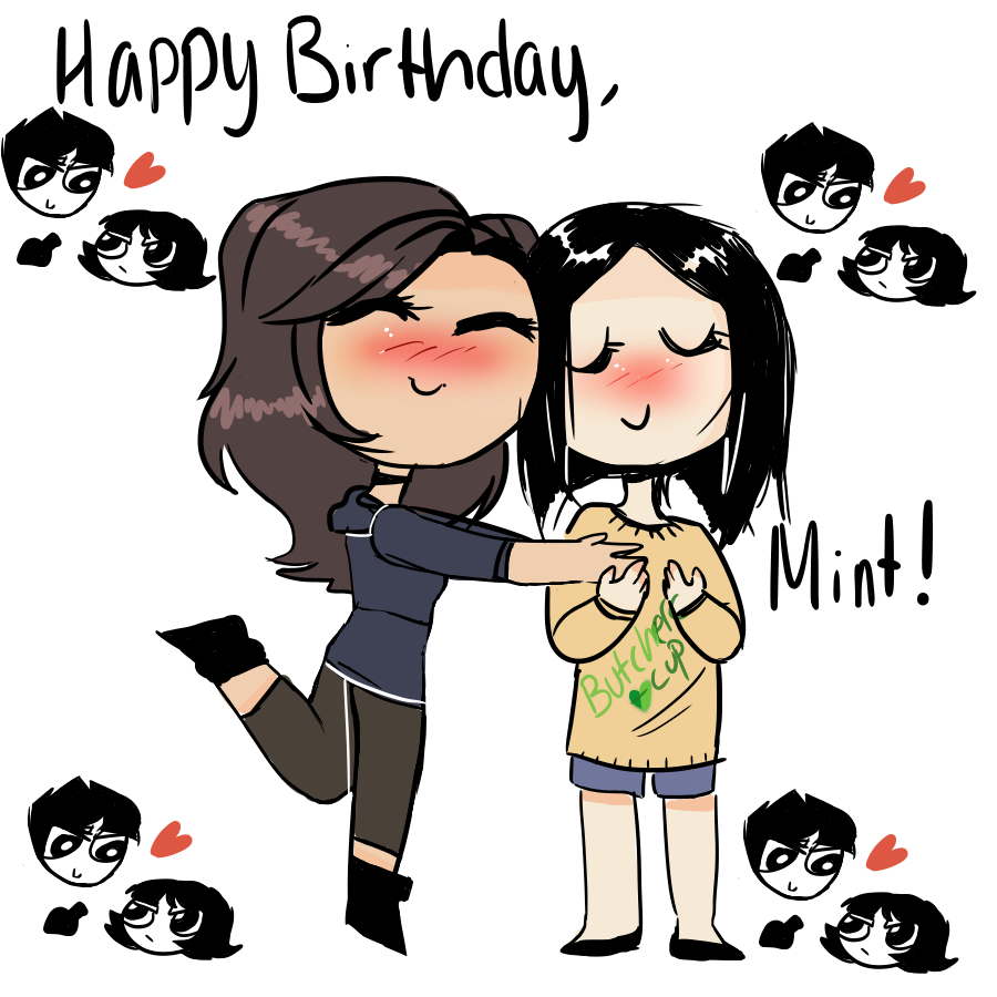 Birthday Gift For Mint by yosuehere