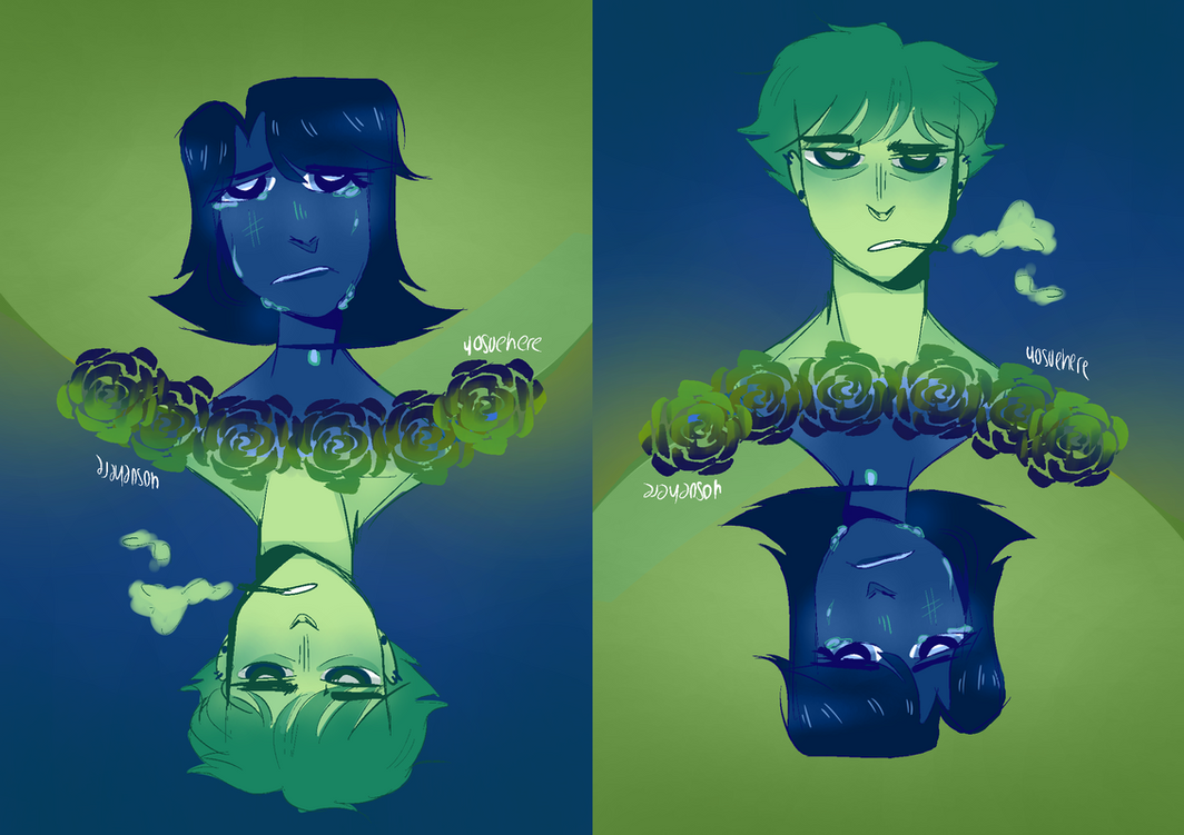 Green And Blue by yosuehere