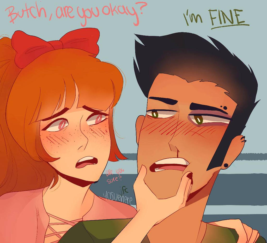 Blossutch Month Day 2- Concerned by yosuehere