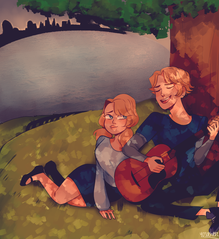 A Song Under The Shade by yosuehere