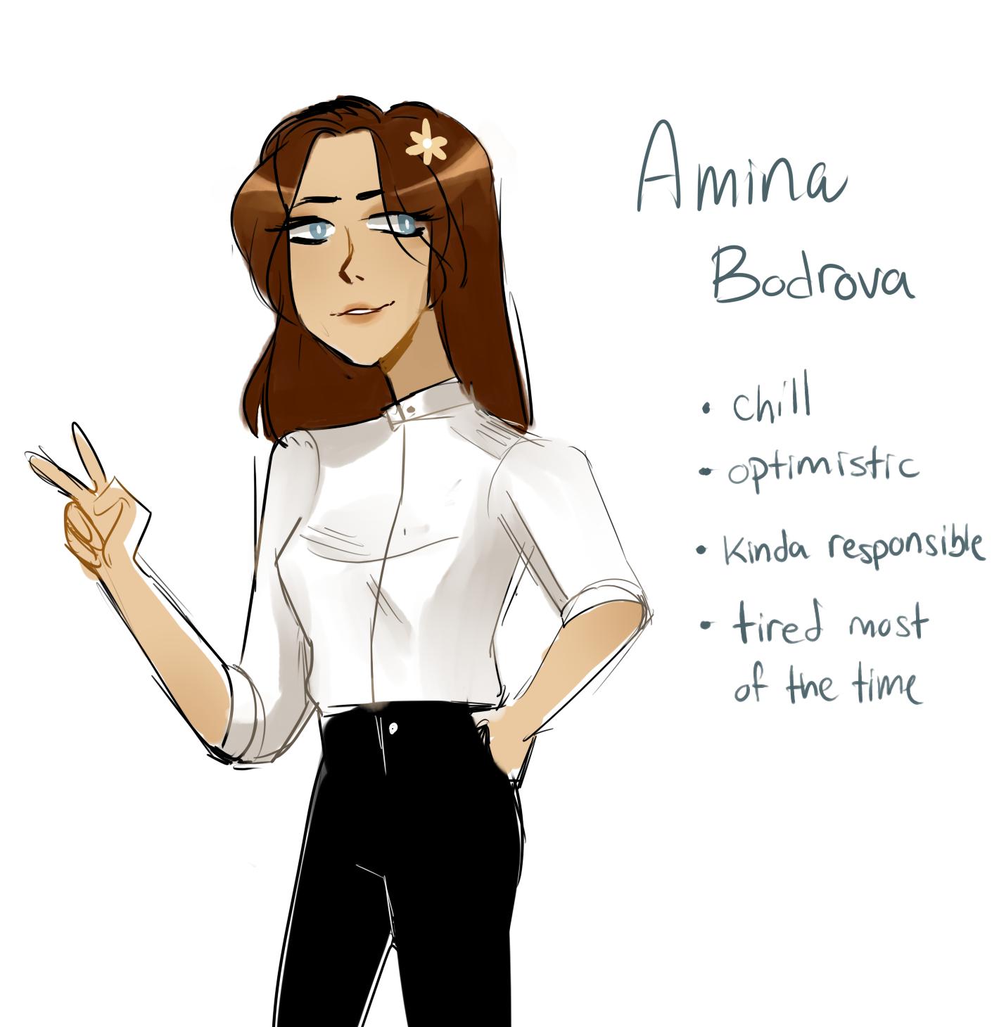 Amina Bodrova by yosuehere
