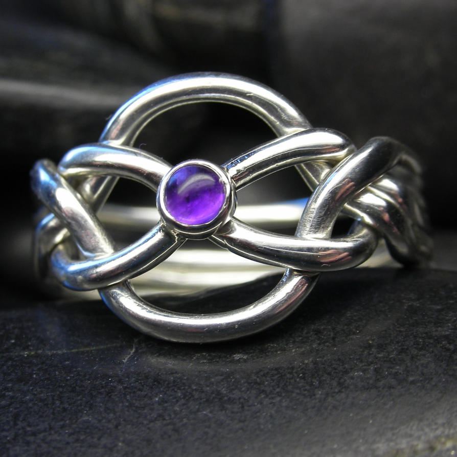 amethyst puzzle ring by vansee jewelry on deviantart