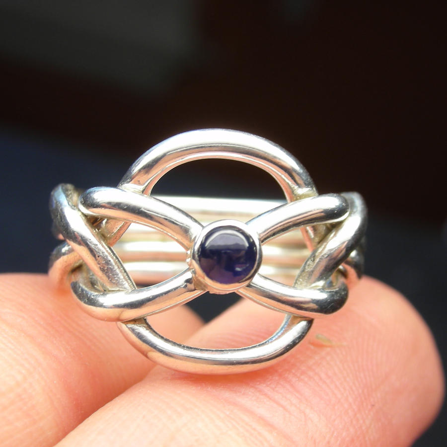sapphire puzzle ring by vansee jewelry on deviantart