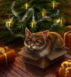 Purrfect present by Anirysel