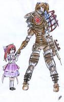 bioshock- big sister by tuch-nin