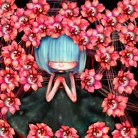 Eye flowers by GoreLoli